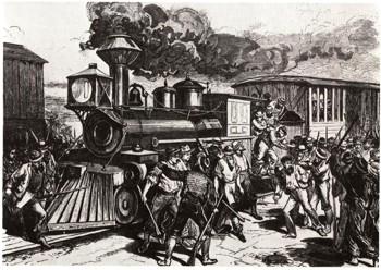 Забастовка на заводах Пульмана в Чикаго, 1886 г